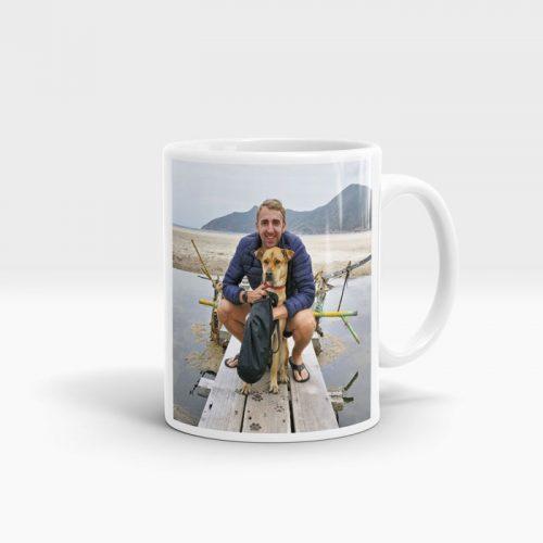 custom printed photo mugs