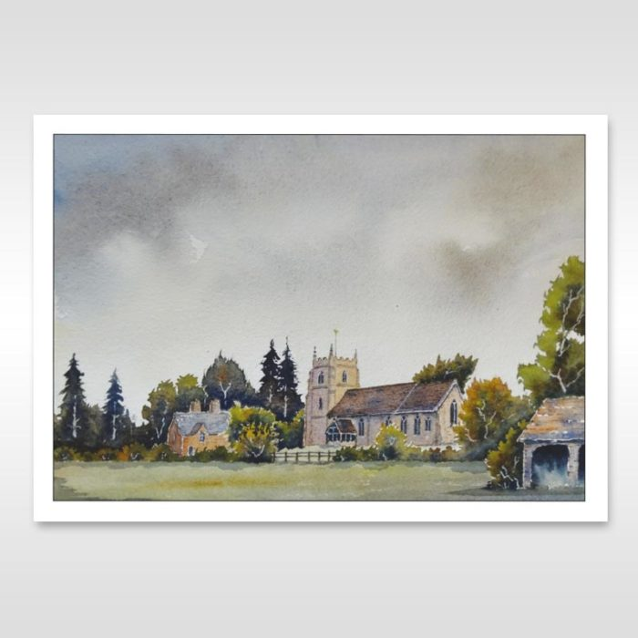 martley church painting