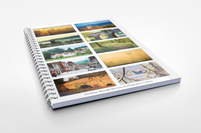 pershore themed notebook