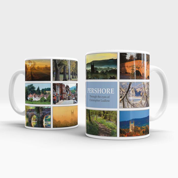 Pershore Photo Mug Design