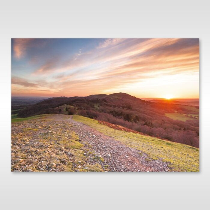 British Camp Sunset