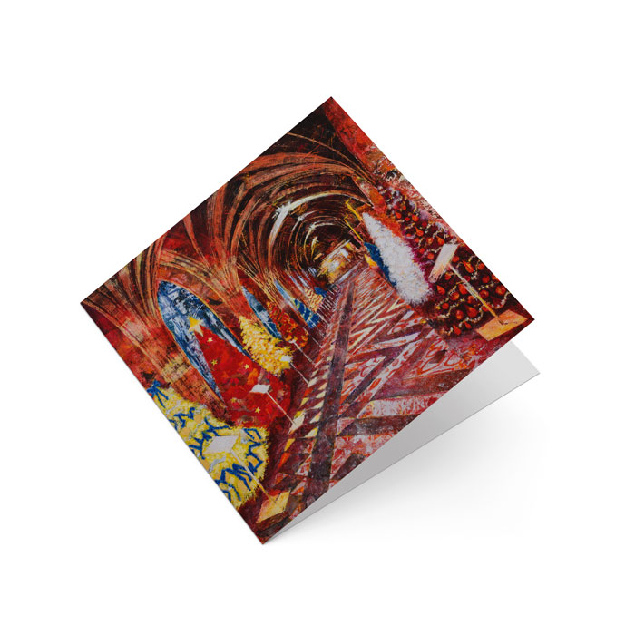 worcester cathedral greetings card
